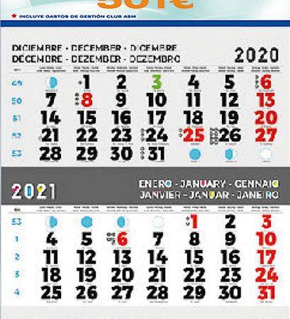 Calendario internacional mod. 58.1