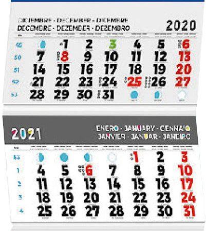 Calendario internacional mod. 58.3